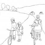 Kinder-mit-Fahrrad